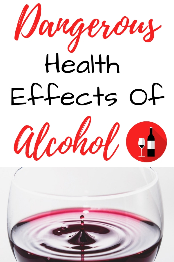 Dangerous health effects of drinking alcohol