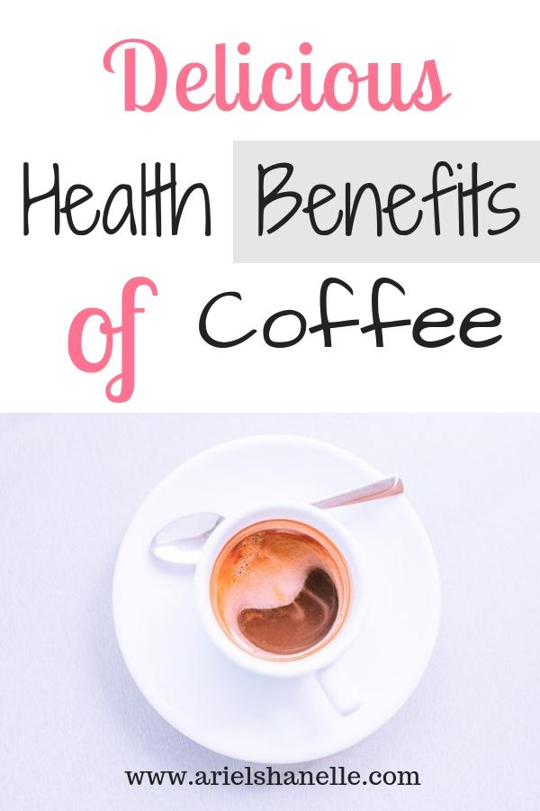 Health benefits of coffee pinterest pin
