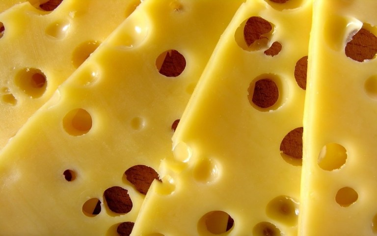 Picture of swiss cheese