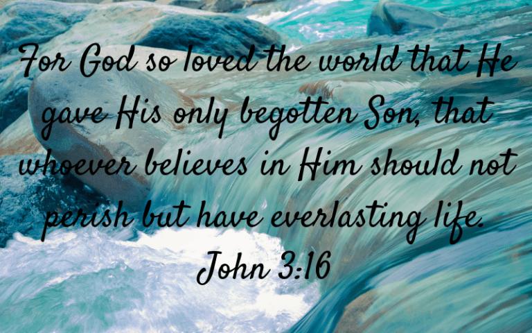 John 3:16 picture