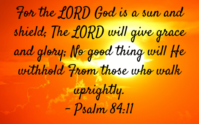 Psalm 84:11 picture
