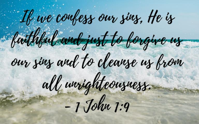 1 John 1:9 picture