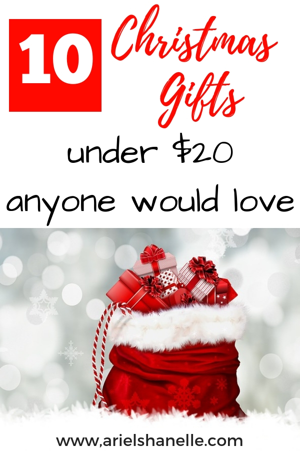 Great Christmas gifts under $20