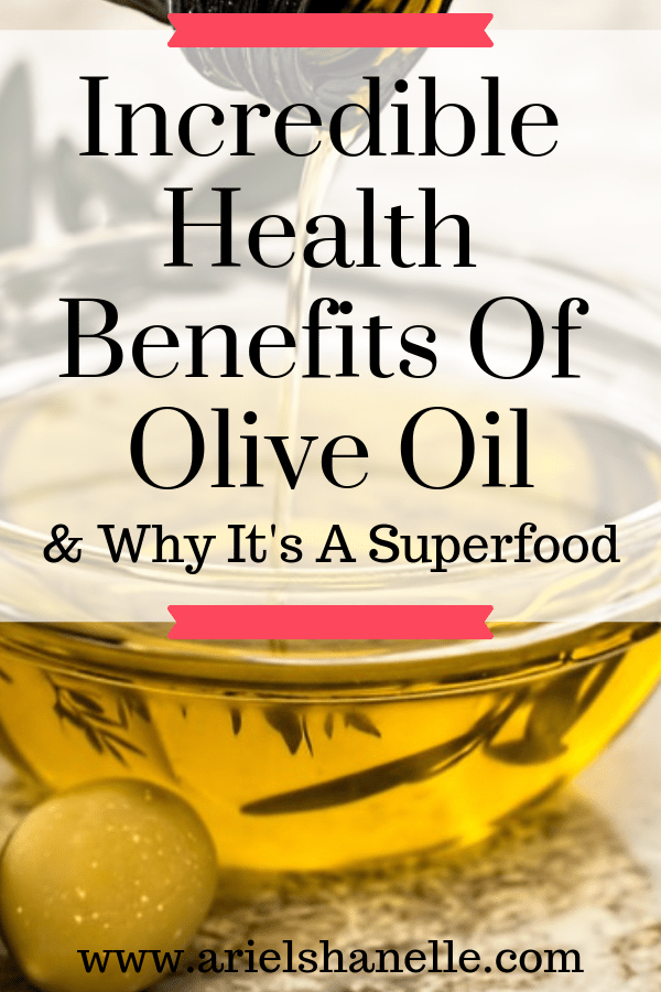 Health benefits of the powerfood olive oil