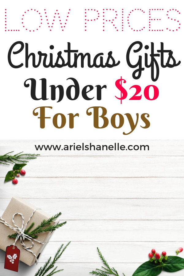 Christmas gifts for boys that are cheap and affordable.