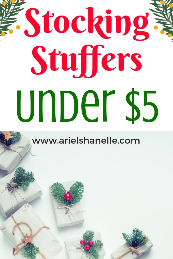 Stocking stuffers under $5. Make Christmas fun AND affordable by sticking to a budget and finding cheap yet great quality gifts.