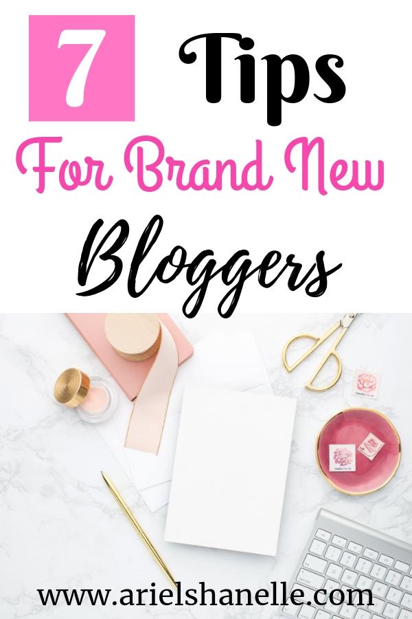 Newbie blogger tips