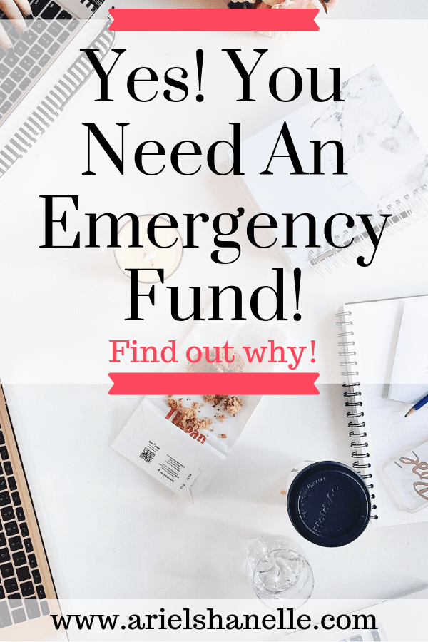 What is an emergency fund and do you need one? Yes! You absolutely do need an emergency fund! Find out why by clicking the picture!