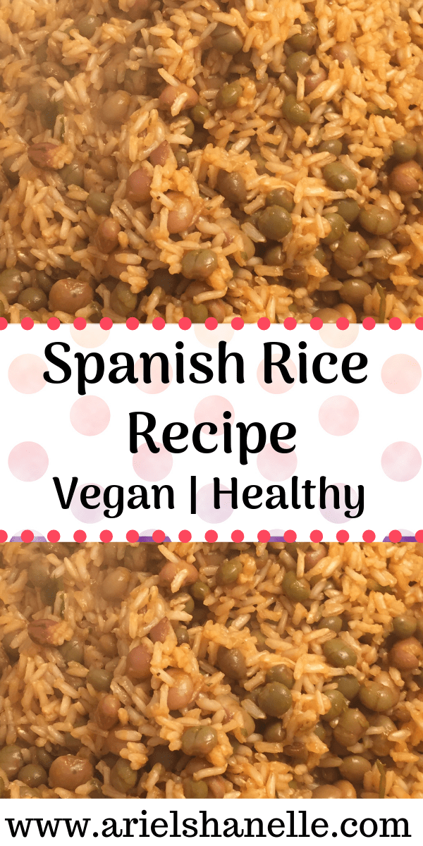 Spanish Rice Recipe | Vegan | Healthy