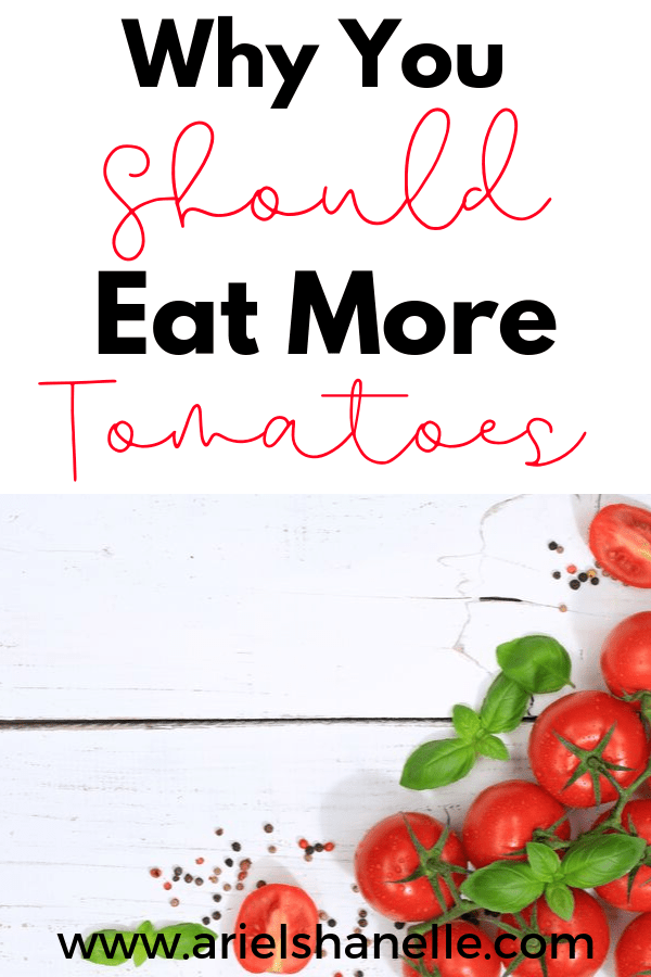 Reasons why you should eat more tomatoes. There are many health benefit of eating tomatoes!