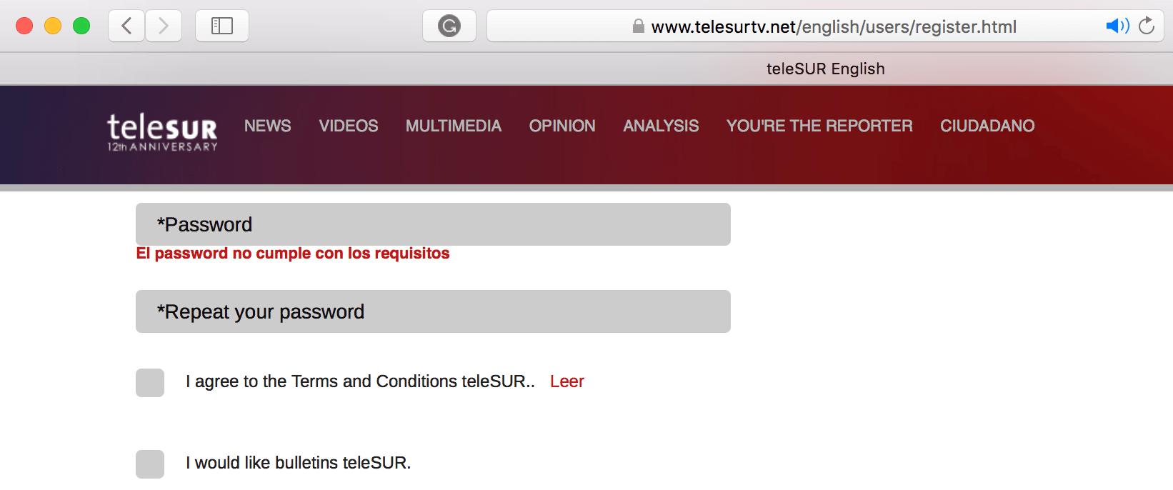 TeleSUR English: Onsite Audit Overview – Ariel Sheen