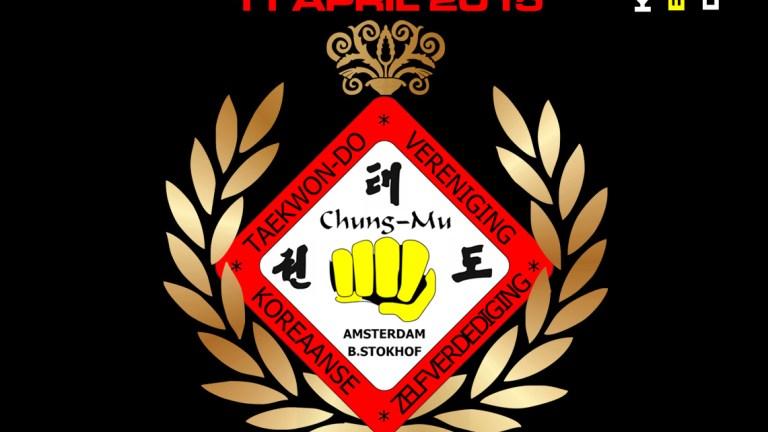 11 april – Chungmu Taekwondo 40 jaar