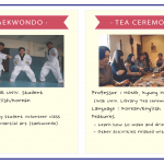 IIIHR Description Taekwondo & Tea Ceremony Class