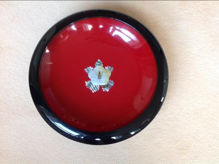 Koreaanse lacquerware schaal