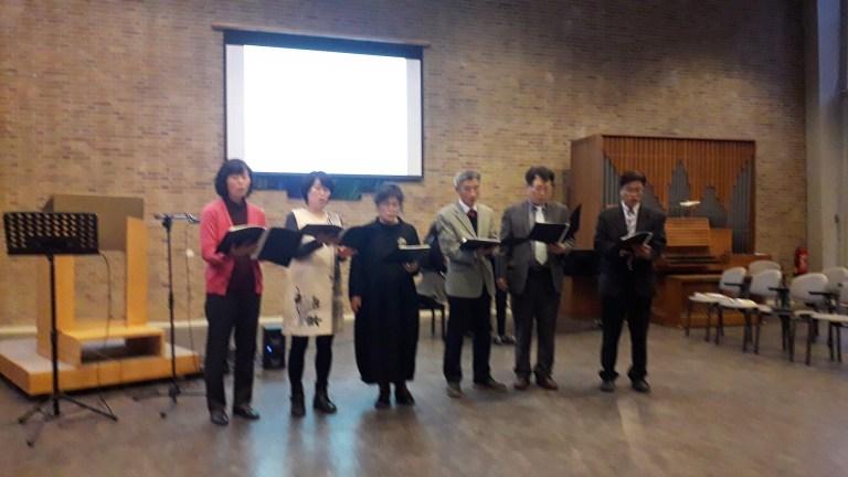 Kerstfeest Koreaanse kerk