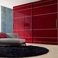 Aries Closet Door Red CSD 47. (Acrylic and Mdf) - Aries ...