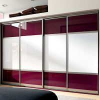 Aries Closet Door White and Red Wine CSD 43 ( Acrylic and ...