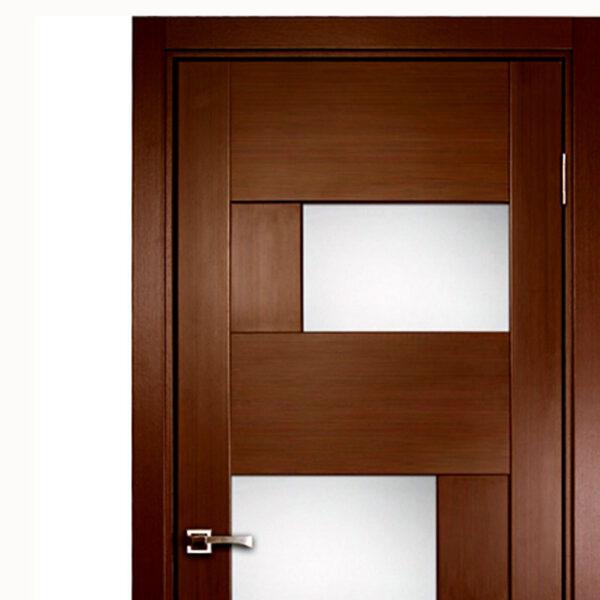 Aries Modern Interior Door with Glass Panels
