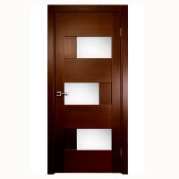 Aries Modern Interior Door with Glass Panels - Aries ...