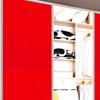 Aries Closet Door Red CSD 52 Acrylic Mdf - Aries Interior ...