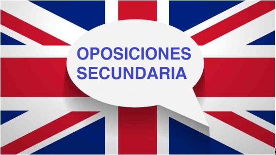 ¡¡ÚLTIMAS PLAZAS SECUNDARIA DE INGLÉS!!