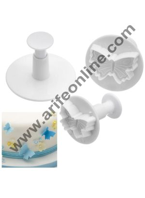 Cake Decor Butterfly Plunger Cutter (set of 3), Fondant cutters, Fondant cutters set tools
