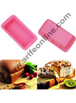Cake Decor Silicone-Non-Stick-Bread-Loaf-Cake-Mold-Bakeware-Baking-Pan-Oven-Mould-Rectangle