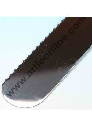 Cake Decor Straight Spatula Serrated Knife,Combo Cake Pallate Knife