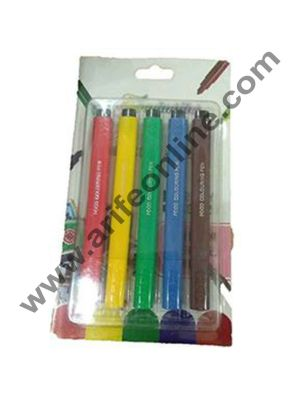 Cake Decor Food Writer Cake Decorating markers Pens, Assorted Colors, Set of 5 Pcs