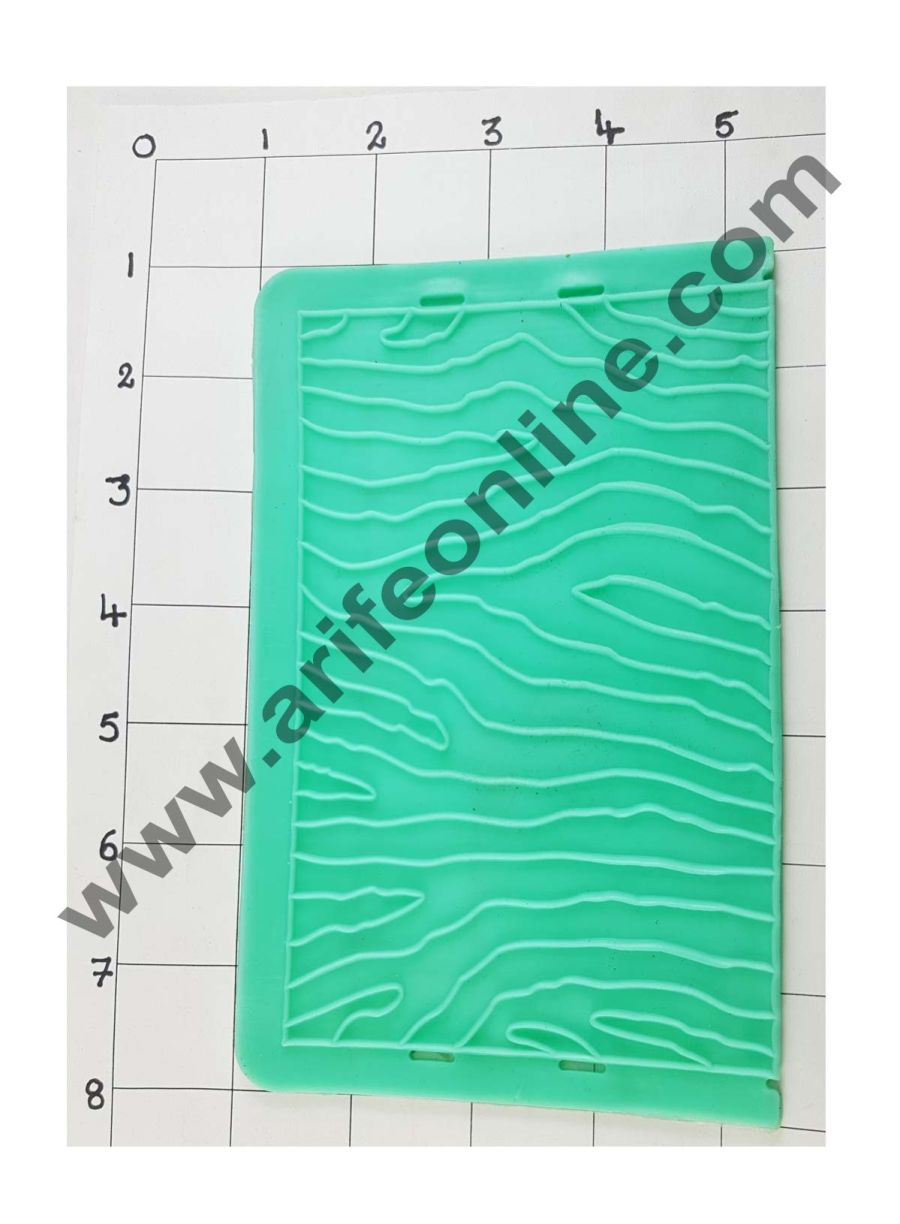Cake Decor Silicon Wooden Pattern Impression Onlays Fondant Clay Marzipan Cake Decoration Mould