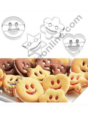 Smiley Cookie Cutters