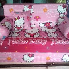 Harga Cover Sofa Bed Inoac Orange Sofas Furniture Daftar Uk 200x120x20 Motif Hello Kitty Pink