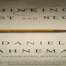 esensi buku thinking fast and slow, review buku thinking fast and slow, download buku thinking fast and slow