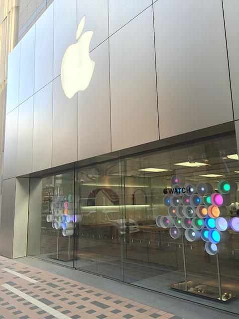 【レポート】Apple StoreでApple Watchを試著してきました - iをありがとう