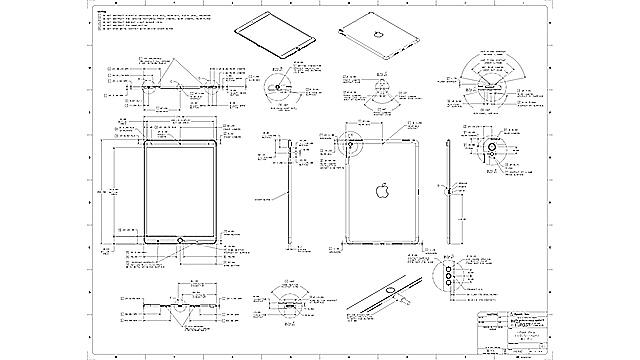 【ニュース】第2世代iPad Pro(10.5インチ、12.9インチ)の、ケース・アクセサリ制作者向け寸法図面PDF公開