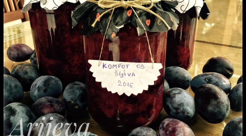 Kompot- dzem - pekmez od šljiva