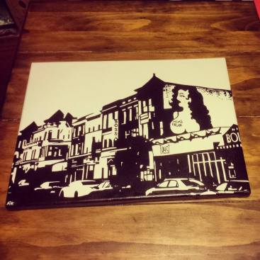 "Adams Morgan - 9"" x 12"""