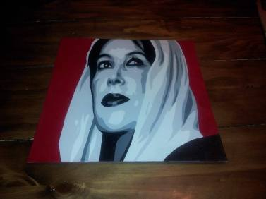 """Benazir Bhutto Commission - 12"""" x 12"""""""