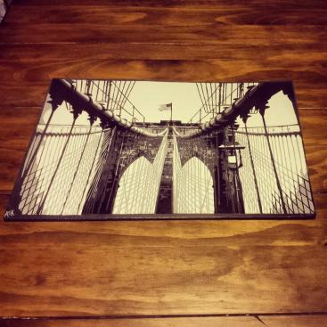 "Brooklyn Bridge - 11"" x 17"""