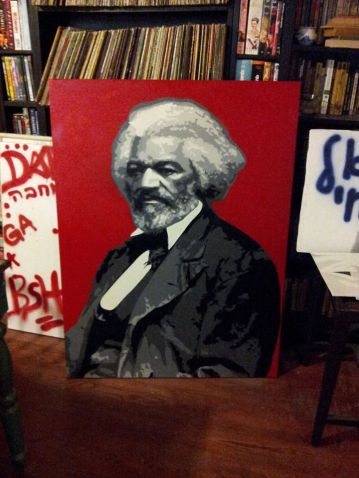 Frederick Douglass - 4'x3' For Scale