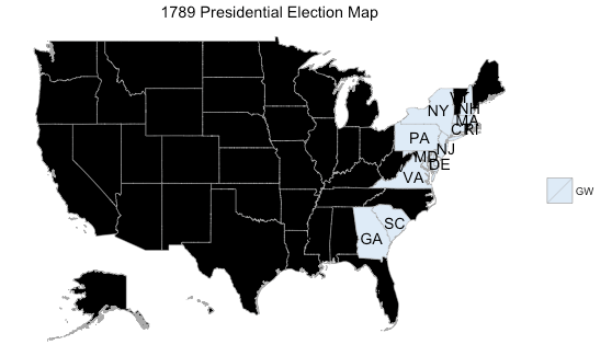 Mapping Historic US Presidential Election Results ...
