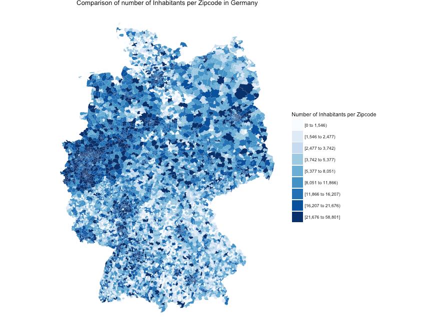 Zip Code Deutschland