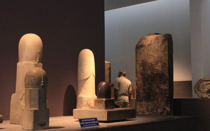 Fallos symbols in the History Museum of Ho Chi Minh City, Vietnam.
