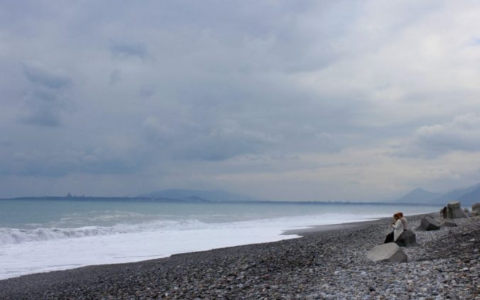 Coast of Philippine Sea from Xinsheng, Taiwan.