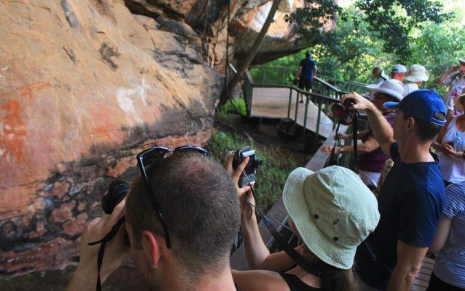 Tourists at Kakadu National Park, Northern Territory