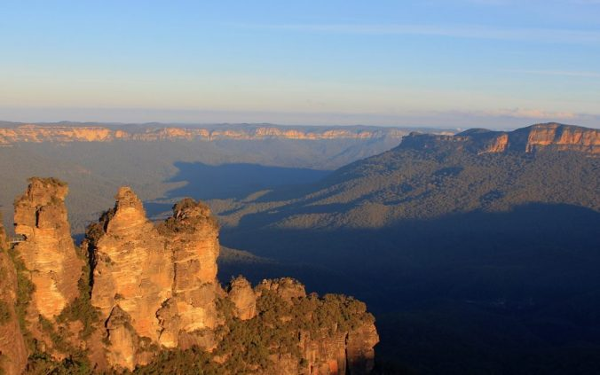 Three Sisters at Blue Mountains.
