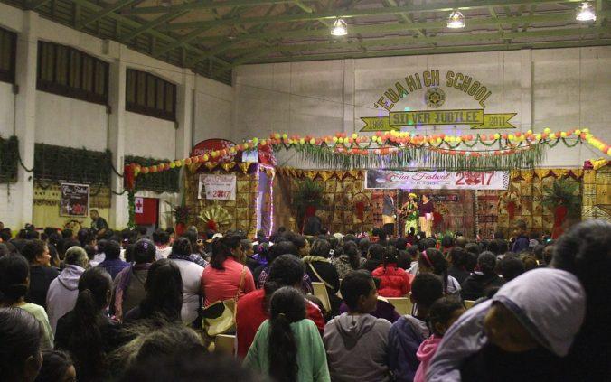 Miss 'Eua competition audience, Tonga.