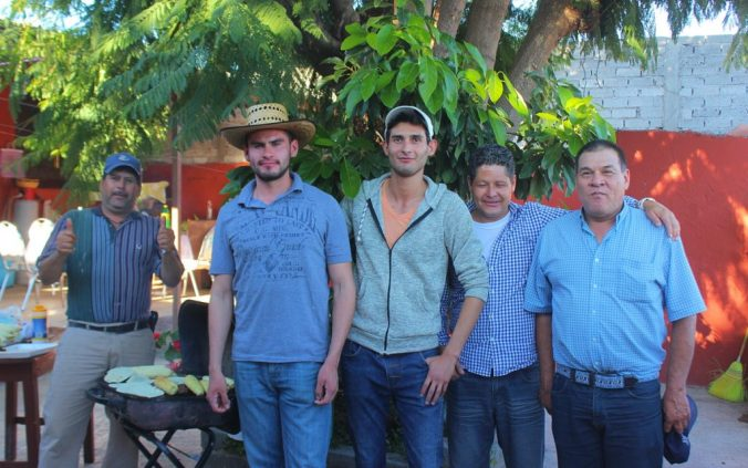Mexican CouchSurfing hosts near Zacatecas.