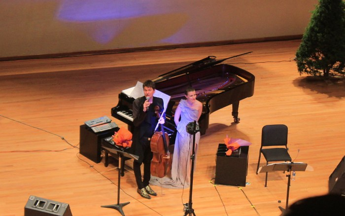 Jean Sibelius concert in Mexico City.