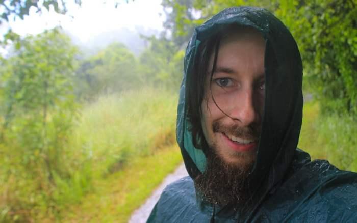 Visiting Victoria Falls during the rain season. Bringing a rain poncho to Victoria Falls.